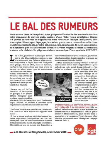 groupe express roularta le bal des rumeurs info 39 com cgt. Black Bedroom Furniture Sets. Home Design Ideas